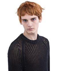 Acne Studios - Blue Lima Striped Jumper for Men - Lyst