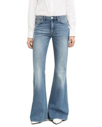 Acne | Blue L.u.v. Telephone High-rise Bootcut Jeans | Lyst