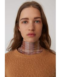 Acne - Shrunken Fit Sweater camel Brown - Lyst