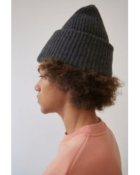 Acne - Gray Pansy L Face Hat - Lyst