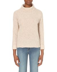 Free People | Brown Sidewinder Wool Jumper - For Women | Lyst