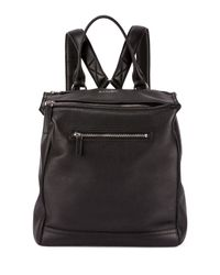 Givenchy - Black Pandora Calfskin Leather Backpack - Lyst