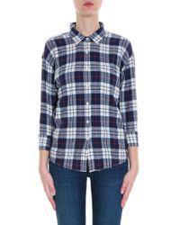 R13 - Multicolor Check Shirt - Lyst