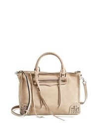 Rebecca Minkoff | Natural 'regan' Satchel | Lyst