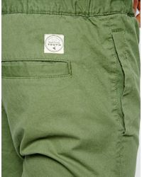 Native Youth - Green Chino Jogger for Men - Lyst
