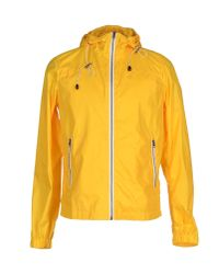 Obvious Basic | Yellow Jacket for Men | Lyst