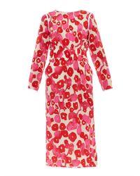 Max Mara - Pink 3/4 Length Dress - Lyst