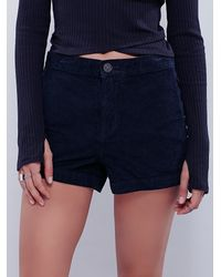 Free People | Black Womens True Colors Cord Short | Lyst