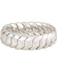 Sidney Garber | White Wave Link Bracelet | Lyst