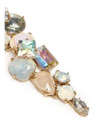 J.Crew - Multicolor Cloudy Crystal Earrings - Lyst