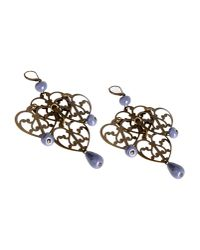 Erika Cavallini Semi Couture | Purple Earrings | Lyst