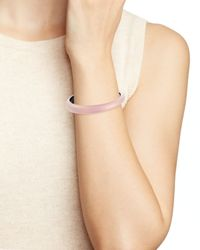 Alexis Bittar - Pink Lucite Skinny Tapered Bangle - Lyst