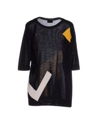 Fendi - Black Jumper - Lyst