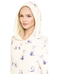 Wildfox - Blue Fox Toile Pullover - Vintage Lace - Lyst