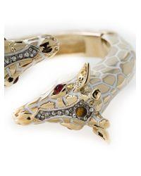 Roberto Cavalli - Metallic 'Giraffe' Bracelet - Lyst