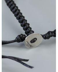 Chan Luu - Black Skull Beaded Bracelet - Lyst