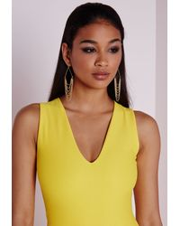 Missguided   Metallic Layered Chain Earrings   Lyst