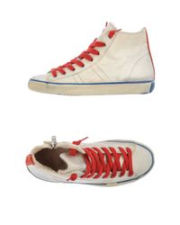 Leather Crown - Natural High-tops & Trainers for Men - Lyst