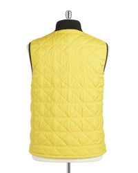 Victorinox - Metallic Quilted Vest for Men - Lyst