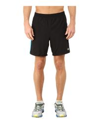 "New Balance - Black Accelerate 7"" Short for Men - Lyst"