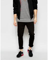 WÅVEN - Jeans Verner Skinny Fit Black for Men - Lyst
