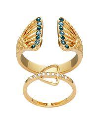 Swarovski | Metallic Daphne Ring | Lyst