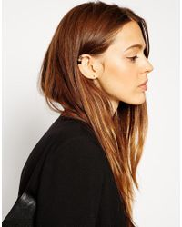ASOS | Multicolor Mixed Metal Ear Cuff Pack | Lyst