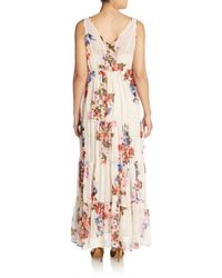 Raga - Multicolor Feeling Floral Empire Maxi Dress - Lyst