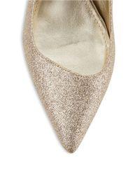 Anne Klein | Metallic Barb Glitter Pumps | Lyst