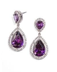 BaubleBar | Purple Anastasia Drops | Lyst