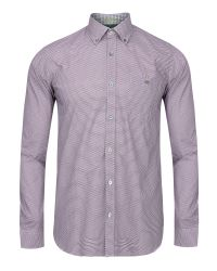 Ted Baker | Purple Lonmaul Circle Print Shirt for Men | Lyst