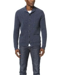 Homecore | Blue Luigi Cardigan for Men | Lyst