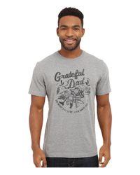 Life Is Good. - Gray Grateful Dad Crusher Tee for Men - Lyst