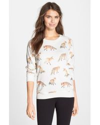 All Things Fabulous | Multicolor Animal Print Crewneck Sweatshirt | Lyst