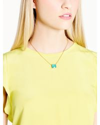 kate spade new york - Blue Cause A Stir Mini Pendant - Lyst