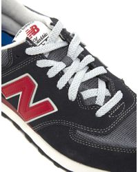 New Balance | Gray 580 Running Sneakers for Men | Lyst
