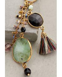 Gas Bijoux - Multicolor Moondrop Tassel Earrings - Lyst