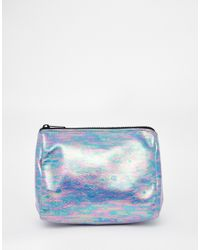 ASOS - Multicolor Metallic Make Up Bag - Lyst