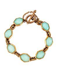 Stephen Dweck - Blue Galactical Bronze Bracelet - Lyst