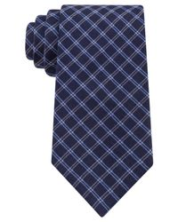 Michael Kors | Blue Collection Message Grid Tie for Men | Lyst