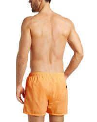 BOSS - Yellow 'tuna'   Quick Dry Swim Trunks for Men - Lyst