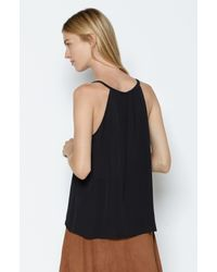 Joie | Black Ziba Silk Top | Lyst