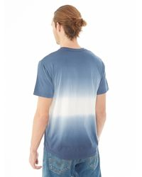 Alternative Apparel | Blue Cotton Modal Pocket Crew T-shirt for Men | Lyst