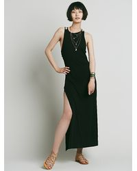 Free People | Black Womens Island Girl Maxi | Lyst