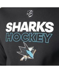 Adidas - Black Sharks Authentic Pro Player Hoodie for Men - Lyst