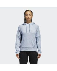 Adidas Blue S2s Pullover Hoodie