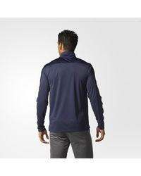 Adidas - Blue Jackets Authentic Pro Jacket for Men - Lyst