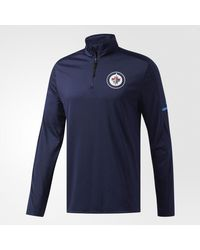 Adidas - Blue Jets Authentic Pro Jacket for Men - Lyst