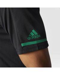 Adidas - Black Stars Pro Locker Room Polo Shirt for Men - Lyst