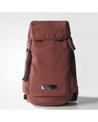 Adidas - Red Athletics Backpack - Lyst